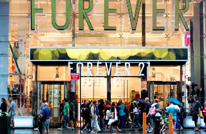 Forever21 - Compras em Nova York